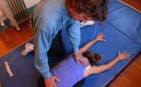 this is a helpful stress reducing stretch for the whole body. It is releasing to the low back most of all.