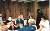 Roger demonstrates to students in Biokinetics/Hanna Somatics training