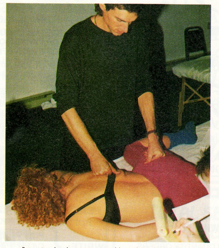 Roger teaches lesson one to address the Landau reflex bowing the spine.