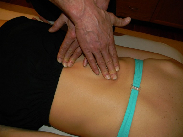 massage therapy in one of many ways. With Roger Baril